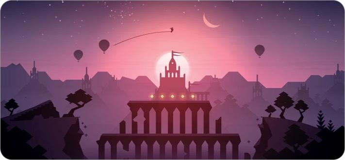 Скриншот игры Alto's Odyssey для iPhone