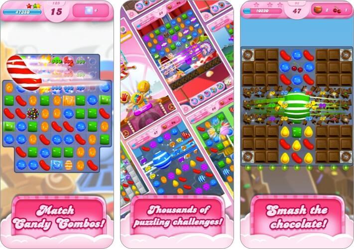 Скриншот игры Candy Crush Saga для iPhone