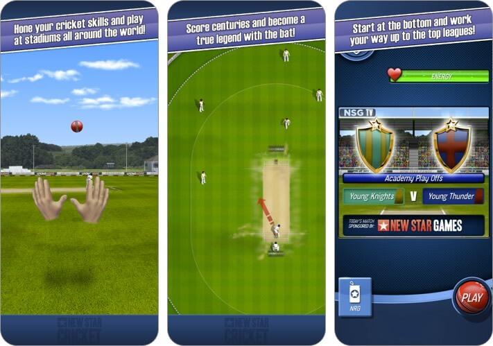 Скриншот нового приложения Star Cricket для iphone и ipad