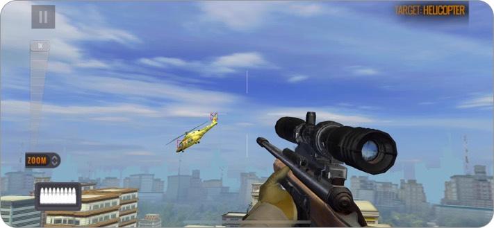 Скриншот игры Sniper 3D для iPhone