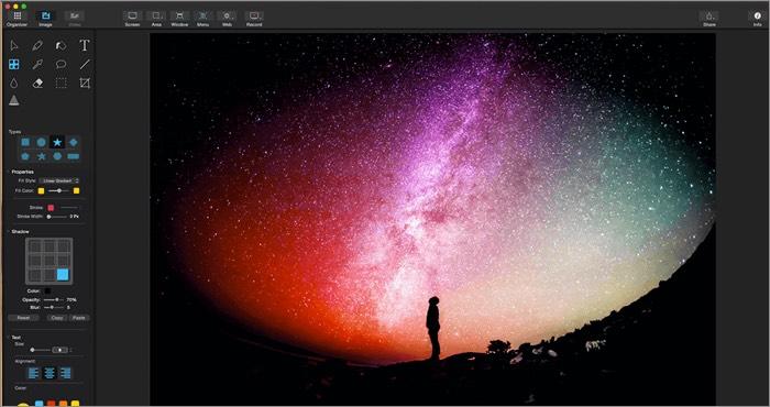Программное обеспечение для редактирования видео Capto для Mac