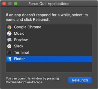 Запустить Force Quite на Mac