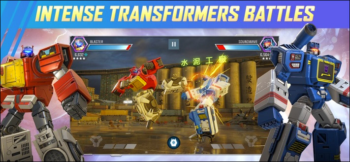 TRANSFORMERS Forged to Fight Game Скриншот приложения для iOS