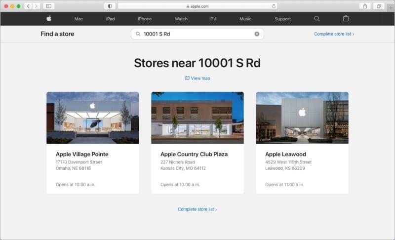So finden Sie Ihren lokalen Apple Store und die Öffnungszeiten
