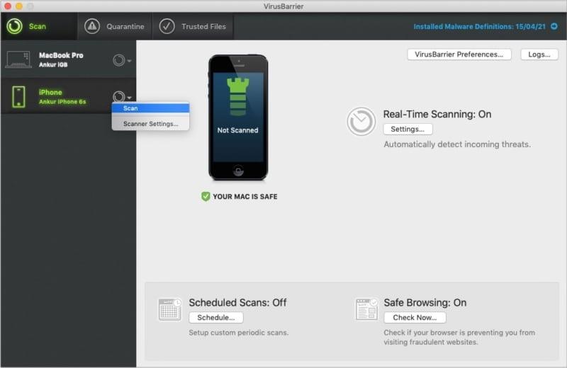 VirusBarrier Protection для вашего iPhone и iPad