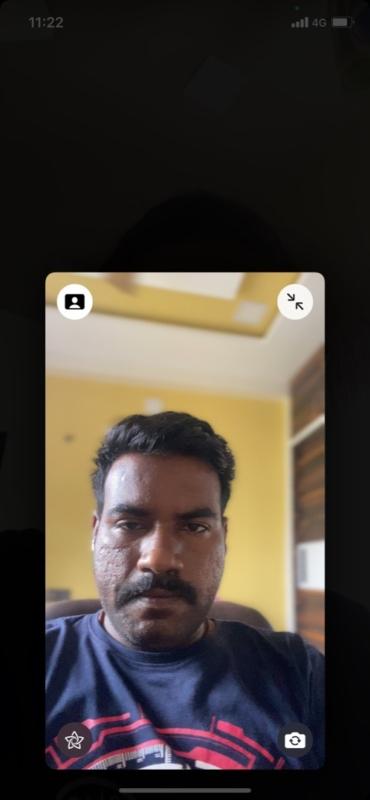 Verschwommener Hintergrund bei Facetime-Anrufen in iOS 15