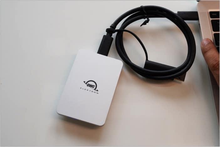 Hardware und Leistung von OWC Envoy Pro Elektron