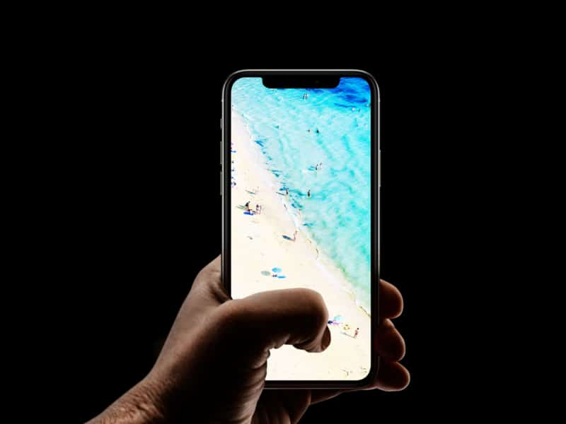 Успокаивающий iPhone пляж 4k обои
