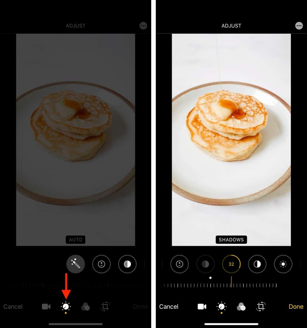Как вручную изменить видеоэффекты на iPhone