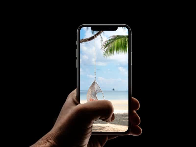 Расслабляющий iPhone пляж обои HD