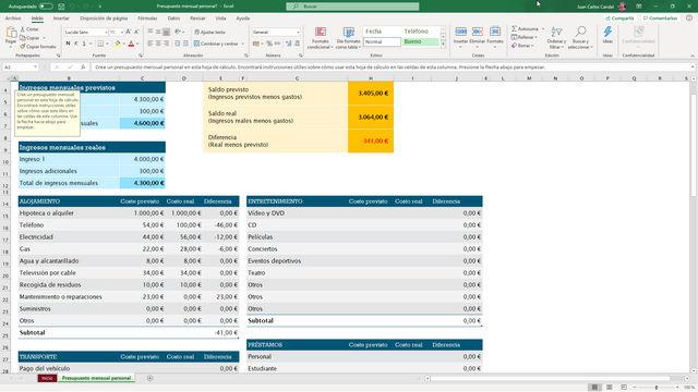Curso Microsoft Excel
