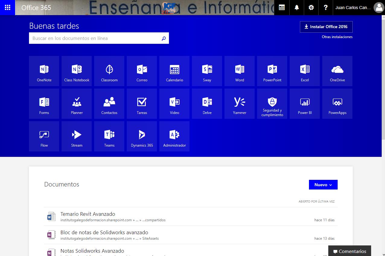 Calendario Office 365.Curso Online De Office 365