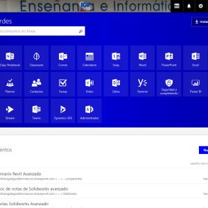 Curso de Office 365 en el Instituto Galego de Formación