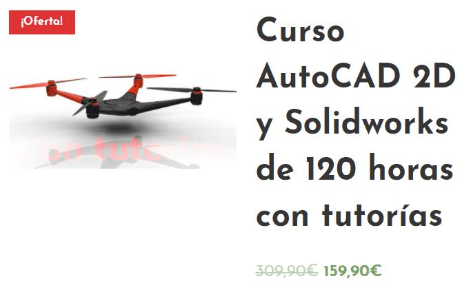 Curso AutoCAD 2D y SolidWorks en español