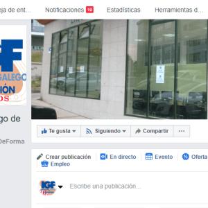 Curso de FaceBook en el Instituto Galego de Formación