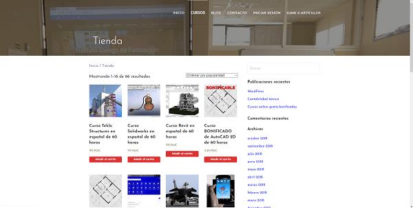 Cursos de comercio electrónico en el Instituto Galego de Formación