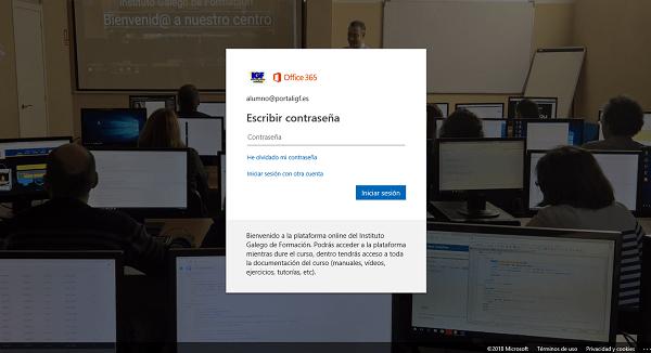 Instalar Office 365 en el Instituto Galego de Formación