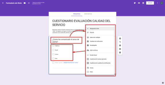 Añadir cuestión - Instituto Galego de Formación