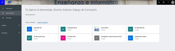 Microsoft Planner - Instituto Galego de Formación