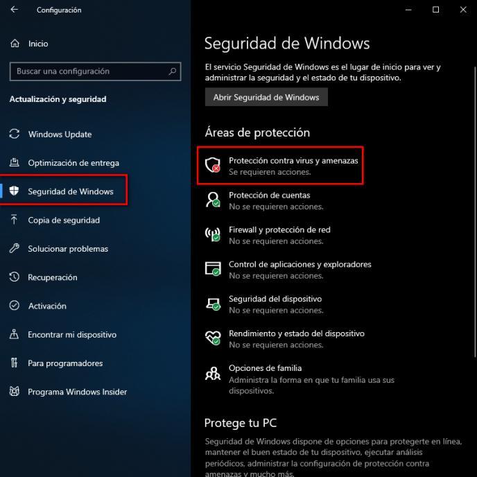 Seguridad de Windows - Instituto Galego de Formación