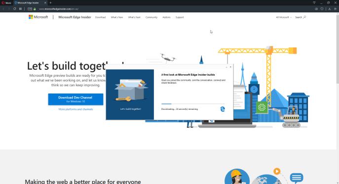 Instalar Microsoft Edge Insider - Instituto Galego de Formación