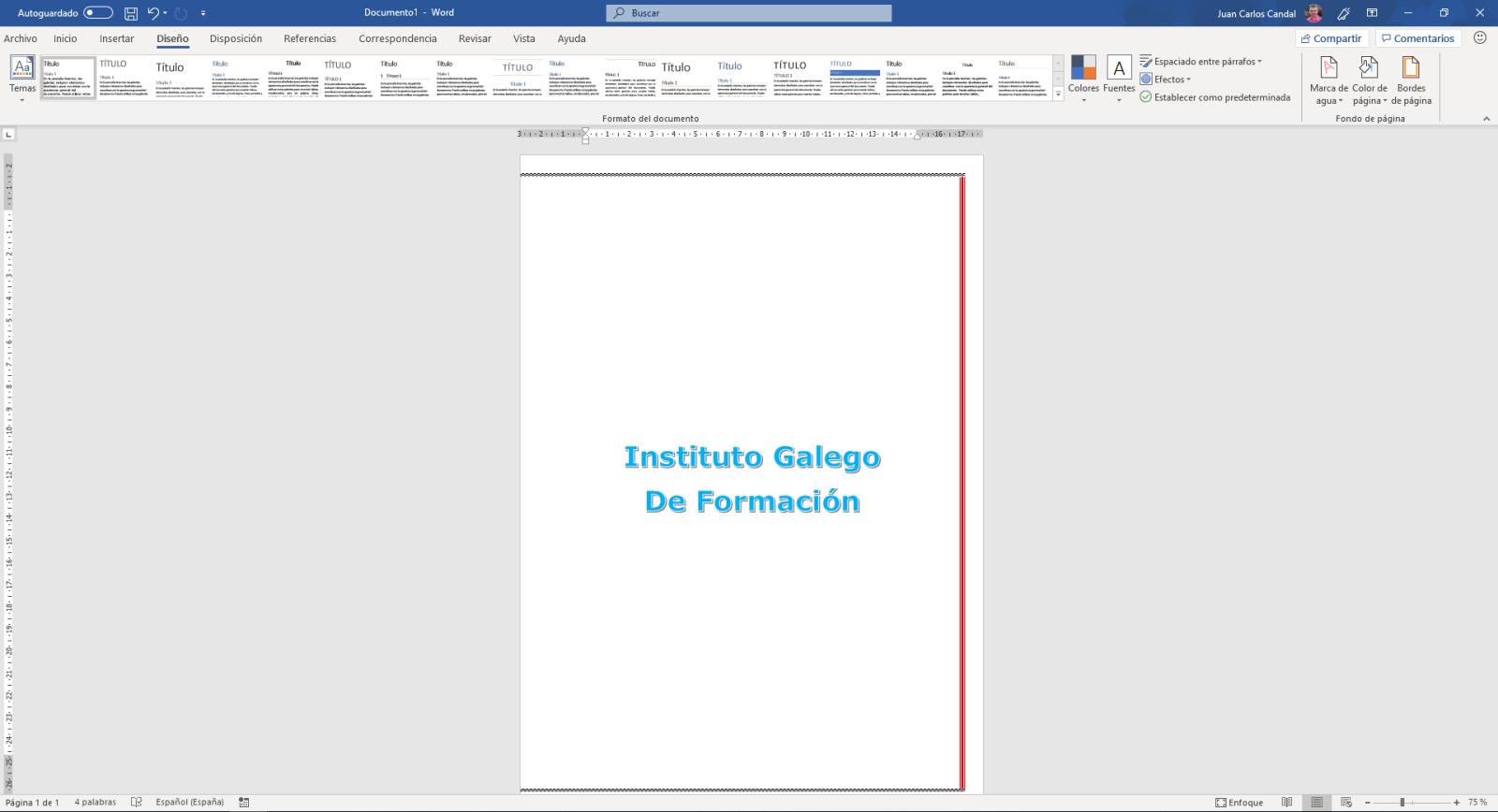 bordes de página - Instituto Galego de Formación