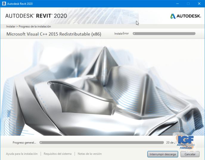 Instalar Autodesk Revit 2020 Descargar Revit - Instituto Galego de Formación