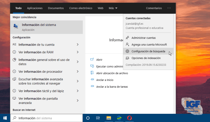 Configuración buscar en Windows 10 con Cortana - igf.es.png