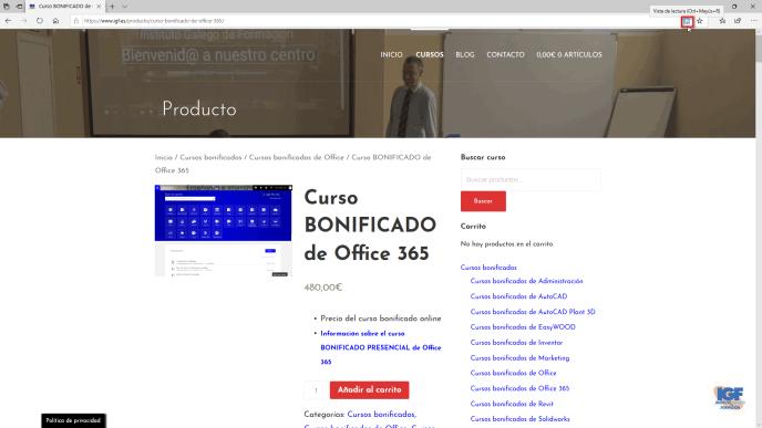 Imprimir sin anuncios una página web - igf.es