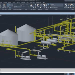 Cursos online de AutoCAD Plant 3D