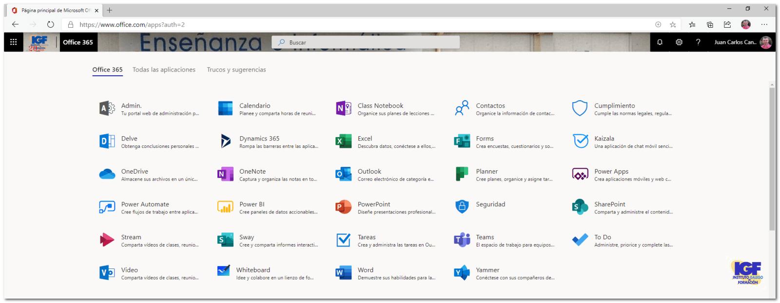 Microsoft 365 - igf.es