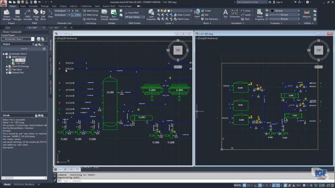 Dibujos AutoCAD Plant 3D