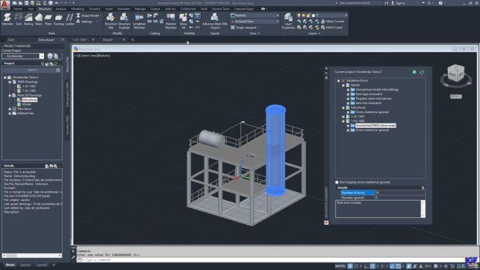 Validar AutoCAD Plant 3D