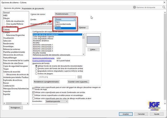 Configurar SolidWorks
