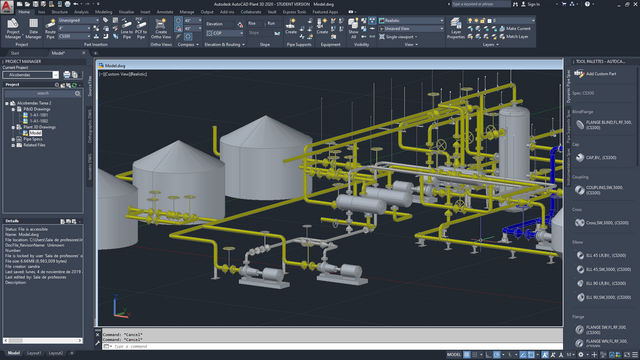 curso AutoCAD Plant 3D bonificado - igf.es