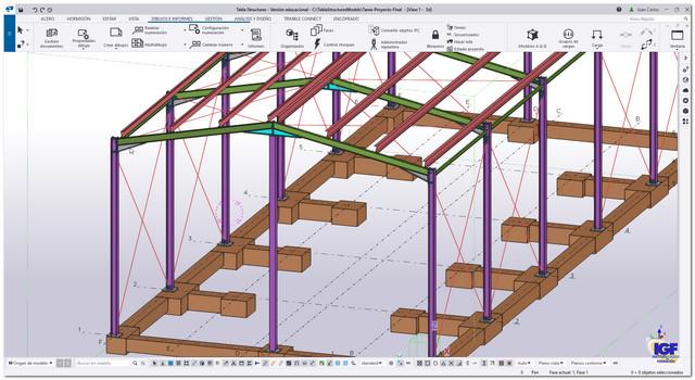 cursos Tekla Structures profesionales