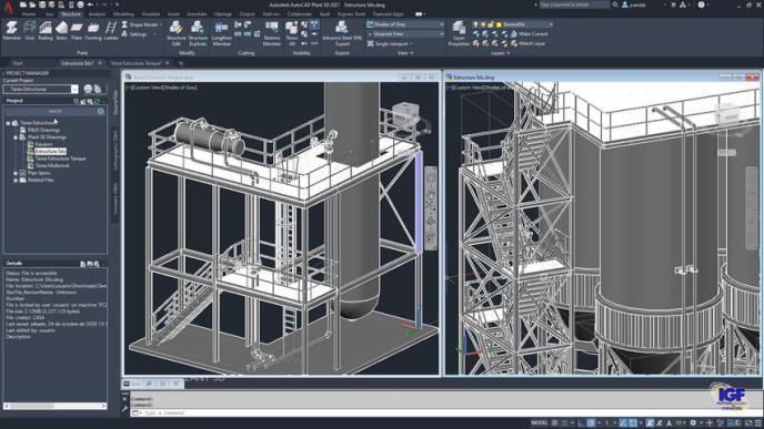 Curso premium de AutoCAD Plant 3D - igf.es