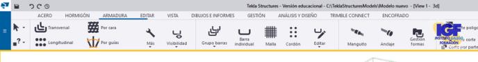 Novedades Tekla Structures 2021 Armaduras