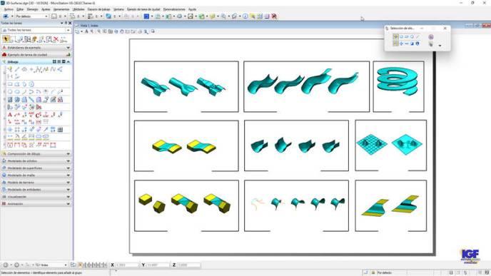 Curso online de MicroStation V8i avanzado - igf.es