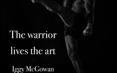 The Warrior Lives The Art