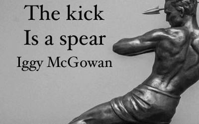 The Kick Is A Spear
