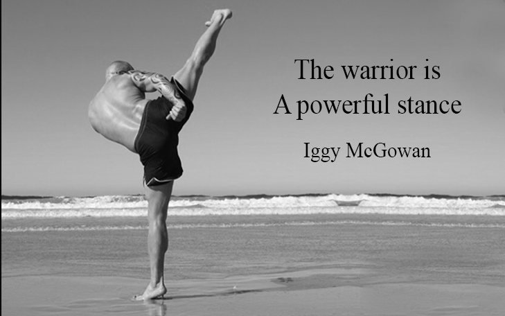 The Warrior Is A Powerful Stance