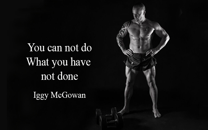You Can Not Do What You Have Not Done