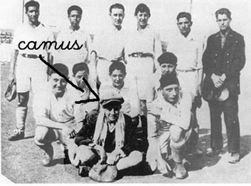 Albert Camus in una squadra di calcio algerina | Numerosette Magazine