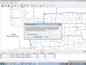 Geo-Referencing raster image in QGIS with respect to vector file