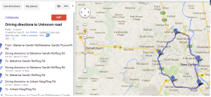 Upload KML file on Google map