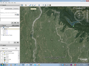 Create save digitize and download kml or kmz from Google Earth