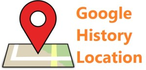 Find out your history location from Google Map