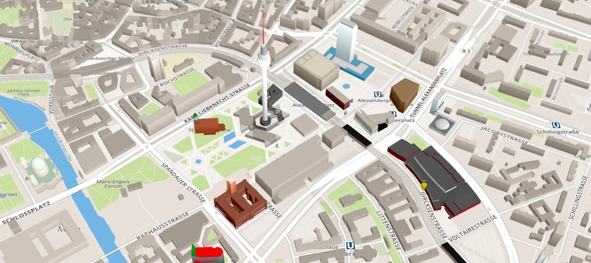 everything about web 3d map examples tools library and uses