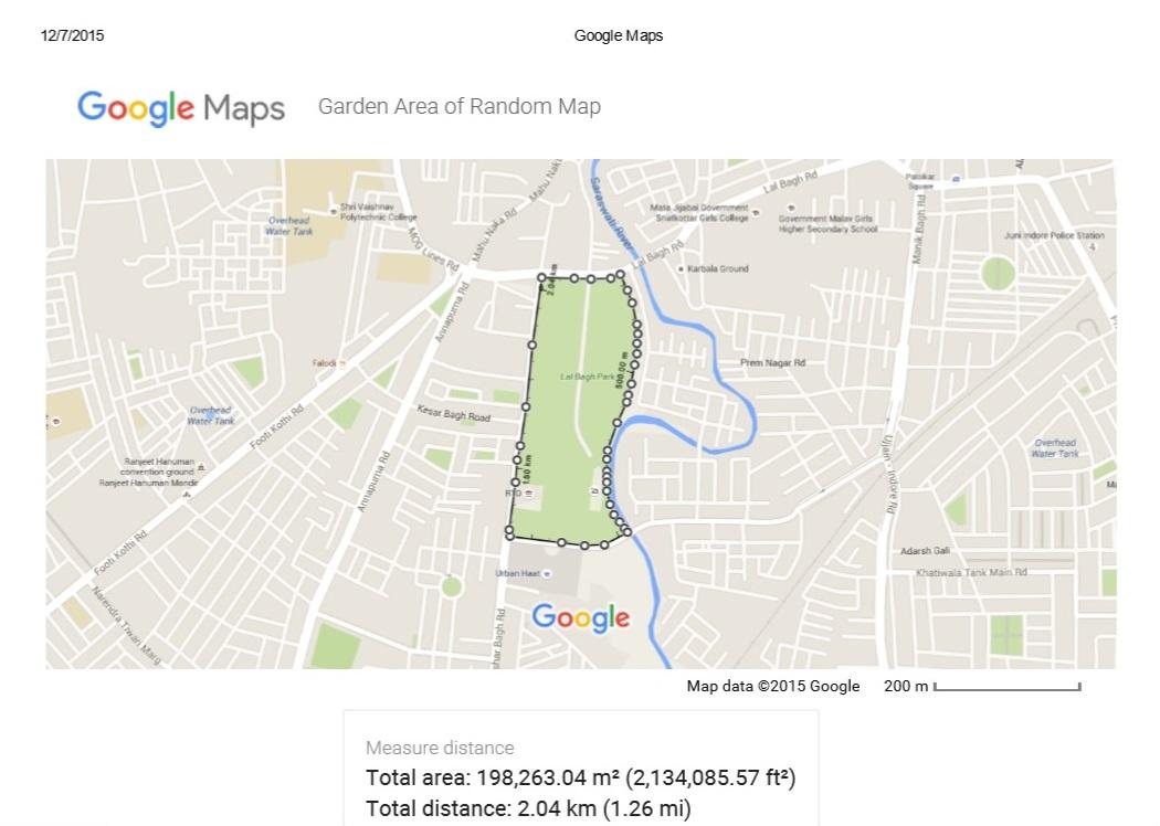 How To Measure An Acre Google Maps Measure Lot Size Google Maps